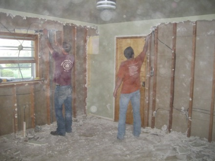 """Tearing Down the 1"""" Thick Plaster Was Hard Work!"""