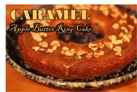 Caramel Apple Butter Ring Cake