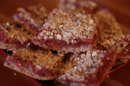 Strawberry Rhubarb Bars3